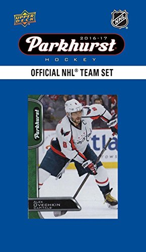 (Washington Capitals 2016 2017 Upper Deck PARKHURST Series Factory Sealed Team Set including Alexander Ovechkin, T.J. Oshie, Nicklas Backstrom Plus)