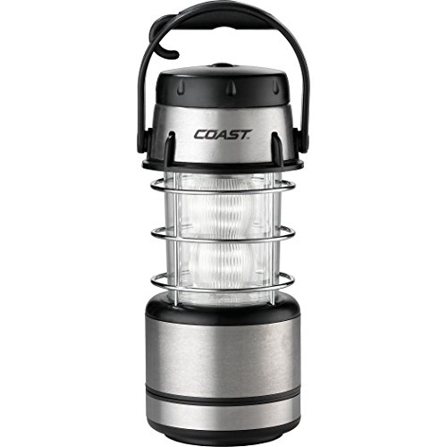 COAST EAL15 60 Lumen Dual Color LED Emergency Area Lantern with Smart Switch and Flashing Red Light Mode, Run-time up to 50 hours