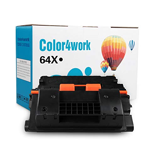 (COLOR4WORK Compatible 64X CC364X Toner Cartridge for MPS - 1 Pack Black, High Yield 24,000 Pages use for Laserjet P4015 P4015n P4015tn P4515 P4515n P4515dn P4515tn P4515x P4515xm Printer)