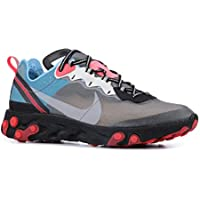 Nike React Element 87 Men's Running Shoes (Black/Cool Grey/Blue Chill)