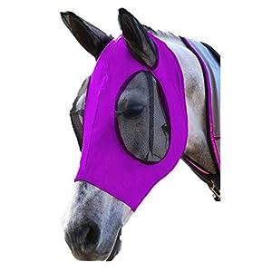 SISIEU Maschera Protettive per Cavalli con Le Orecchie,Copertura Protettiva per Animali Domestici,Maschera Protezione UV… 9 spesavip