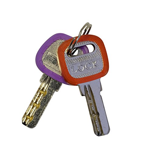 Upgraded 36pcs Uniclife Key Caps Covers Tags Plastic Key