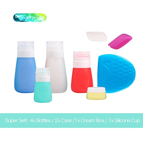 on-the-go-travel-accessory-super-set-include-4-different-silicone-bottles-1-silicone-cream-container
