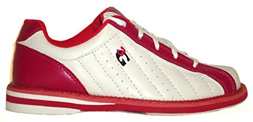 scarpa scarpe Bianco e destrorsi 3 36 colori Kicks donna 48 in uomo Bowling per rosa e 4 taglia G mancini B6dAxwq