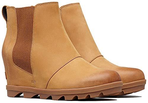 Sorel Women's Joan of Arctic Wedge II Chelsea Boots, Camel Brown 2, 6.5 M US
