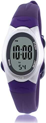 RetroLEDWaterproof digital watches/Girl girl multifunctional electronic watches-C