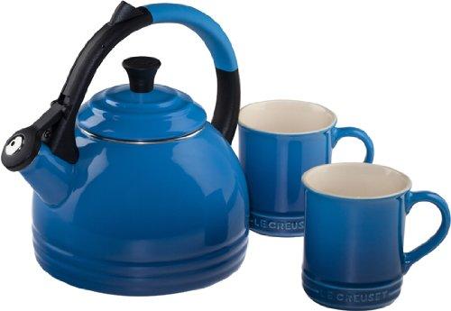 le creuset blue kettle - 4
