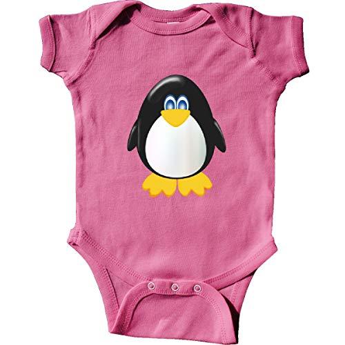 (inktastic - Cute Penguin Infant Creeper Newborn Raspberry 3e9)