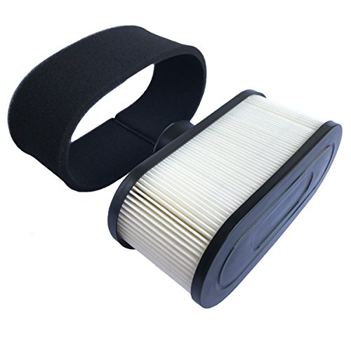 HEYZLASS 11013-0752 11013-0726 Air Filter, for Kawasaki FR651V FR730V FR691V Engine Air Cleaner, Lawn Mower Air Filter, Plus 11013-7046 Pre Filter