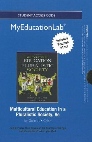 NEW MyEducationLab with Pearson eText -- Standalone Access Card -- for Multicultural Education in a Pluralistic Society