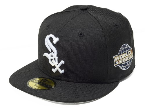 New Era White Sox Fitted Cap - Chicago White 2005 World Series Sox