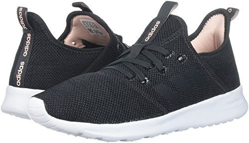 Adidas Women's Cloudfoam Pure Running Shoe, Carbon/Carbon, 5.5 M US