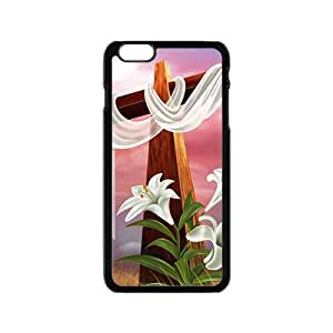 Pure red cloth big cross Cell Phone Case for Iphone 6