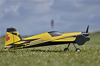 "RocHobby 3D MXS RC Airplane 4ch 1100mm (43.3"") Wingspan Aerobatic PNP Model Plane Aircraft"