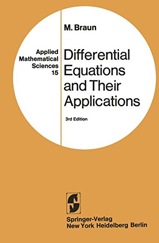 Differential Equations and Their Applications: An Introduction to Applied Mathematics (Problem Books in Mathematics)