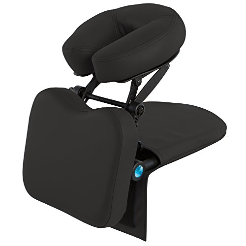 EARTHLITE Travelmate Massage Support System Package - Face Down Desk & Tabletop Massage Kit, Vitrectomy recovery equipment, Black by EARTHLITE