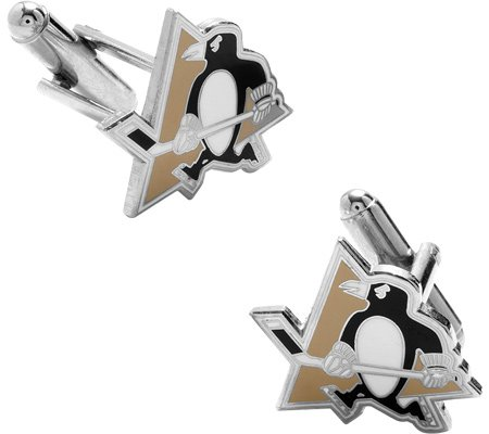 Cufflinks Inc Men's Pittsburgh Penguins Cufflinks