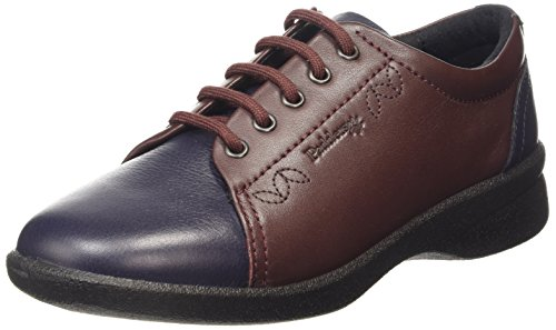 Padders Refresh 2 - Navy/Bordeaux Womens Shoes 5.5 UK