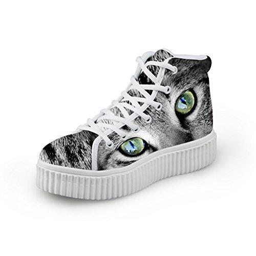 Abbracci Idea Moda Comfort Traspirante Sneaker Scarpe Con Tacco Alto Per Donna Us11