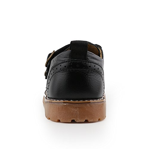Image of CCTWINS KIDS Toddler Little Kid Girl Boy Dress Oxford Leather Shoe