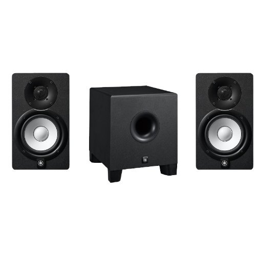 Yamaha HS5 and HS8S Studio Monitor Speaker System