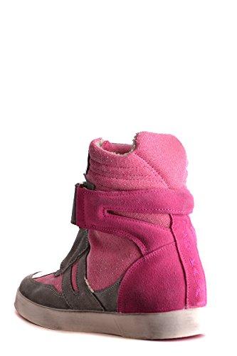 Ishikawa Fucsia Ezbc088004 Gamuza Altas Zapatillas Mujer FPSBrqnxwF