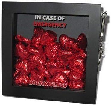 San Valentín presente caja de regalo de emergencia. Diversión Novedad presentación 3d marco de caja de regalo recuerdo para favorito tema alimentos/Chocolate/dulces/bebida/dinero/vale/joyas. Ideal regalo del día de San Valentín para él, ella,