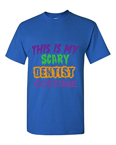 [This Is My Scary Dentist Halloween Costume - Adult Shirt 3xl Royal] (Scary Dentist Costume)