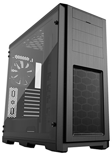 Phanteks Enthoo Pro TG Full ATX Chassis Integrated RGB lighting Tempered Glass Side Panel Black (PH-ES614PTG_BK) by Phanteks