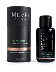 MEVEI | PEPPERMINT Luxury Essential Oil - Cool & Refreshing | 100% Pure & Natural (1 fl oz/30 ml)