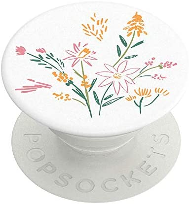 PopSockets: PopGrip with Swappable Top for Phones and Tablets - Wild Blooms