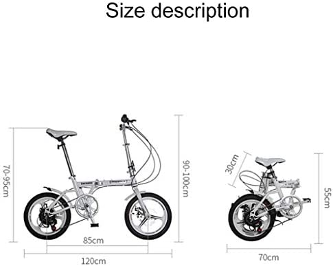 DYFYMXBicicleta niño bicicleta de pedal Bicicleta plegable ...
