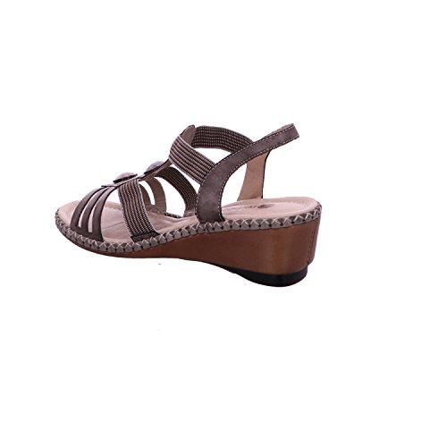 Remonte D6163-25 - Sandalias de vestir para mujer Beige