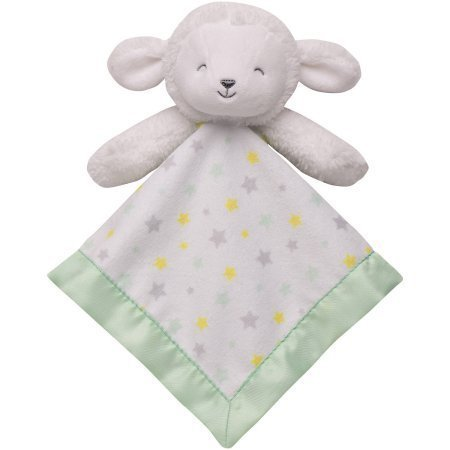 Child of Mine by Carter's Baby Lamb Cuddle Blanket with Rattle
