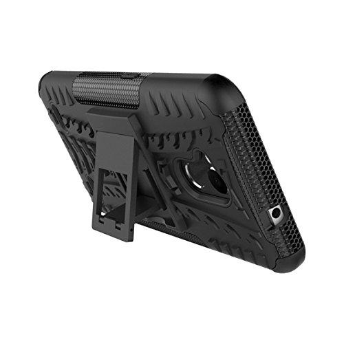ZTE Blade V6 plus / V7 Lite / A2 Funda, TOTOOSE para ZTE Blade V6 plus / V7 Lite / A2 Tarea Pesada Alto impacto Shockproof Doble Capa 2 in 1 Rugged Cuerpo Combinado Híbrido Armadura Defender Protector blanco