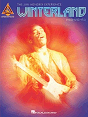 drix - Winterland (Highlights) Guitar Tab Songbook (Jimi Hendrix Note)