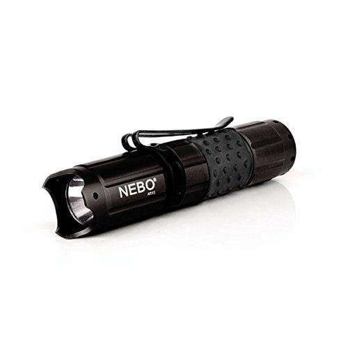 NEBO 5519 CSI Edge 50 Lumen LED Flashlight w/Tactical Edge, Black