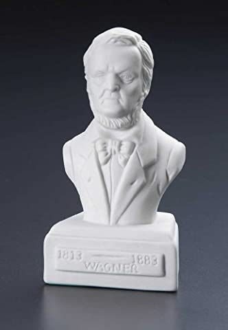 Music Treasures Co. Wagner Porcelain Composer Statue 5 Inches (Wagner Composer)