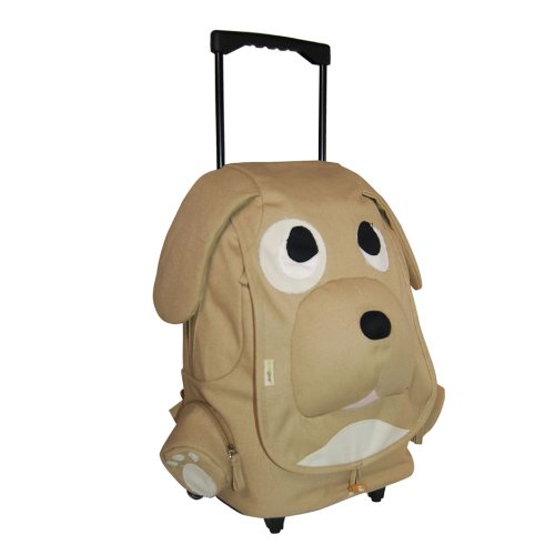 Ecogear Ecozoo Kids Rolling Puppy, Brown, One Size