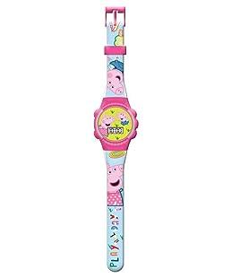Peppa Pig Reloj de Pulsera analogico en Caja con Ventana (PP17005), Multicolor (Kids Licensing 1)