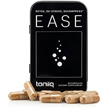 Ease Liver Detox by Toniiq | Superior Liver Support, Hangover Prevention, and Hangover Kit | to-Go Carry Case