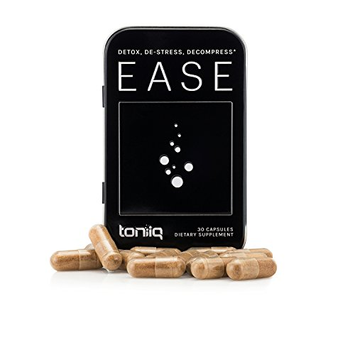 Ease Liver Detox by Toniiq   Superior Liver Support, Hangover Prevention, and Hangover Kit   to-Go Carry Case