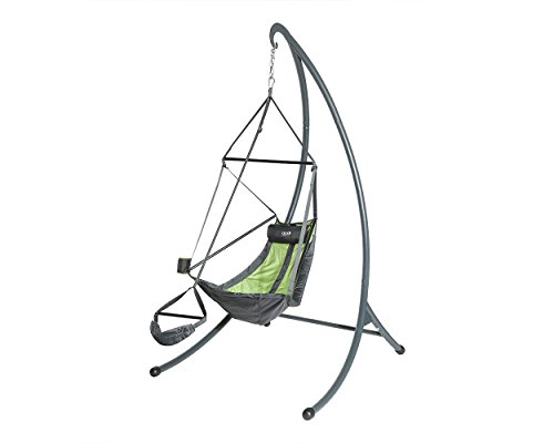 - Eagles Nest Outfitters - ENO SkyPod Hanging Chair Stand , Charcoal