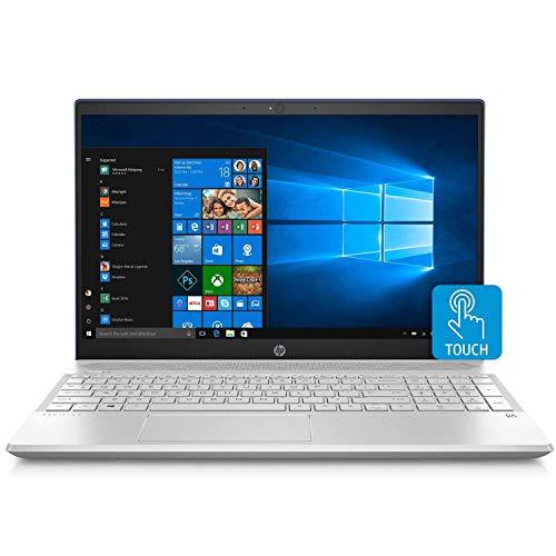 2019 HP Pavilion 15.6 FHD Touchscreen Display Home & Business Laptop, Intel Quad Core i7-8550U Upto 4.0 GHz, 12GB RAM, 1TB HDD, Backlit Keyboard, USB-C, GbE LAN, Windows 10