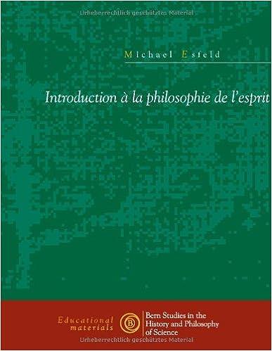 Livre gratuits Introduction La Philosophie de L'Esprit epub pdf