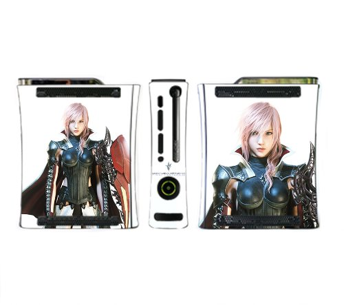 Lightning Returns: Final Fantasy XIII Game Skin for Xbox 360 Console (Final Fantasy 13 Lightning Returns Xbox 360)