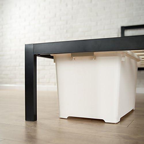 home, kitchen, furniture, bedroom furniture, beds, frames, bases,  beds 6 image Zinus Mia Modern Studio 14 Inch Platform 1500H promotion