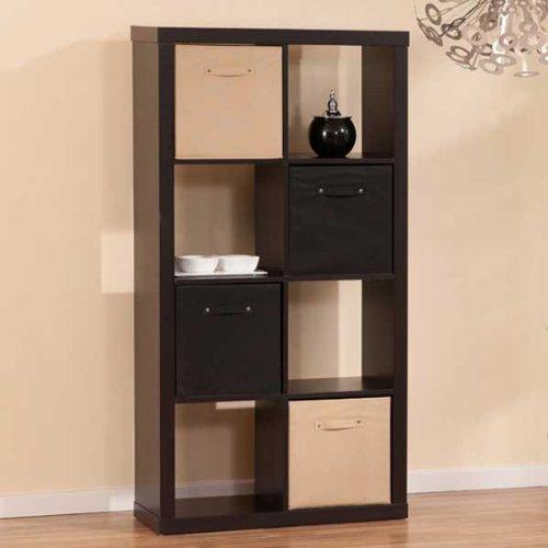 Ellenboro Casual Style Espresso Finish Bookcase Display Stand