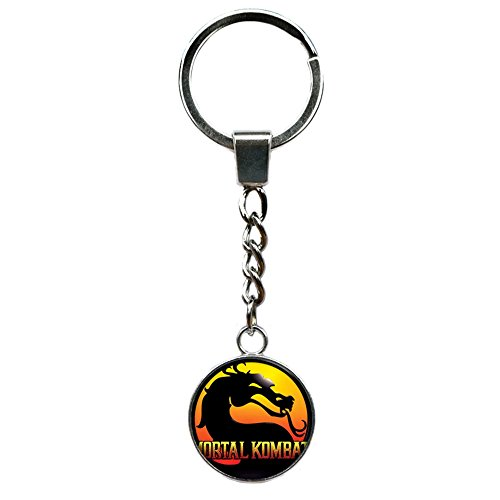 Mortal Kombat Fashion Novelty Keychain Console Game Series with Gift Box]()