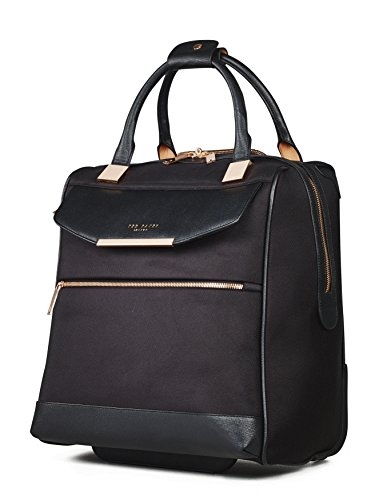 Ted Baker Womens Albany Softside Wheeled Business Case (One Size, Black) by Ted Baker (Image #2)